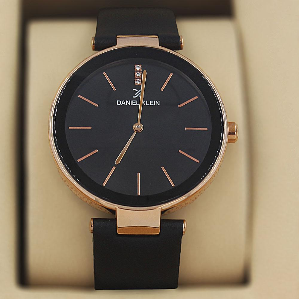 Daniel Klein Constans Black Leather Classic Series Watch