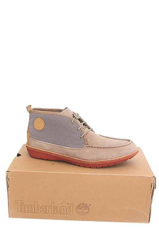 Timberland Brown Suede Leather Men Ankle Sneakers