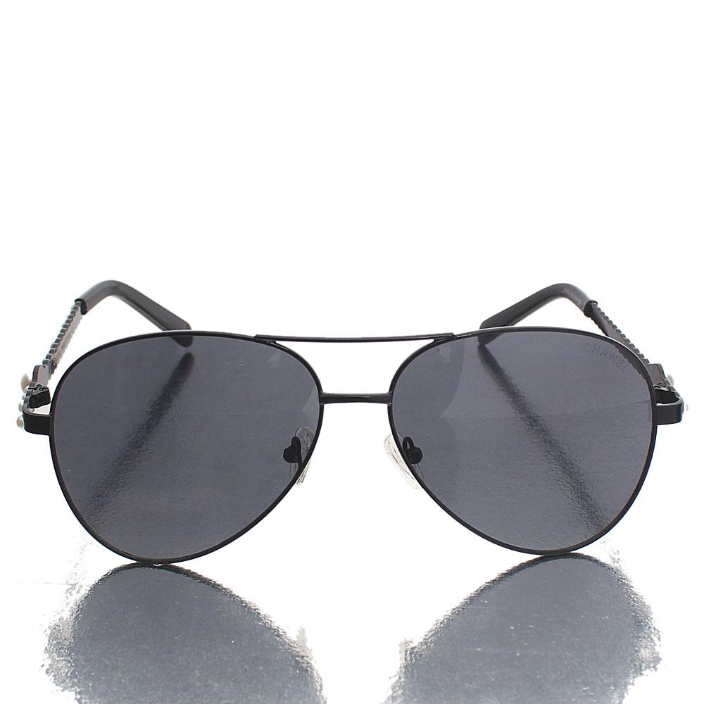 Black Aviator UV Polarized Sunglasses