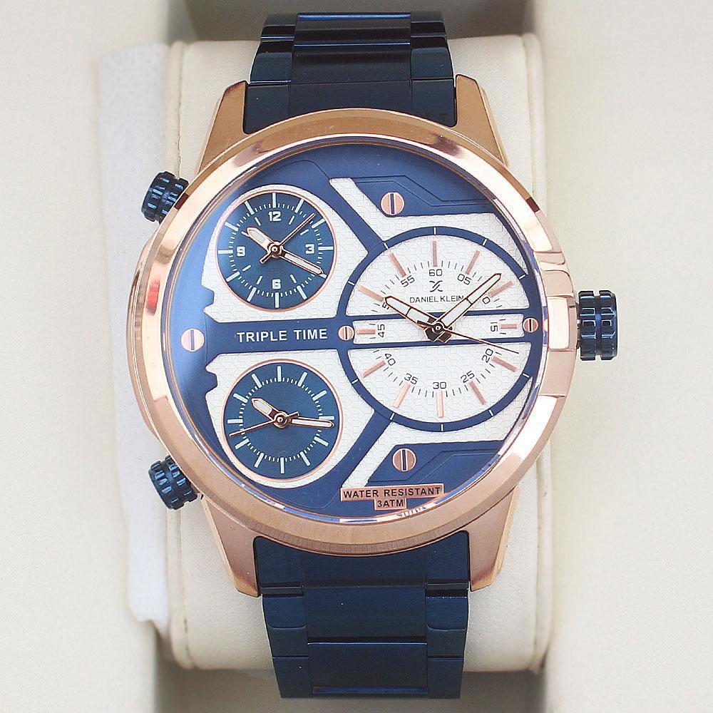 Daniel Klein Stainless Steel Multifunction Watch