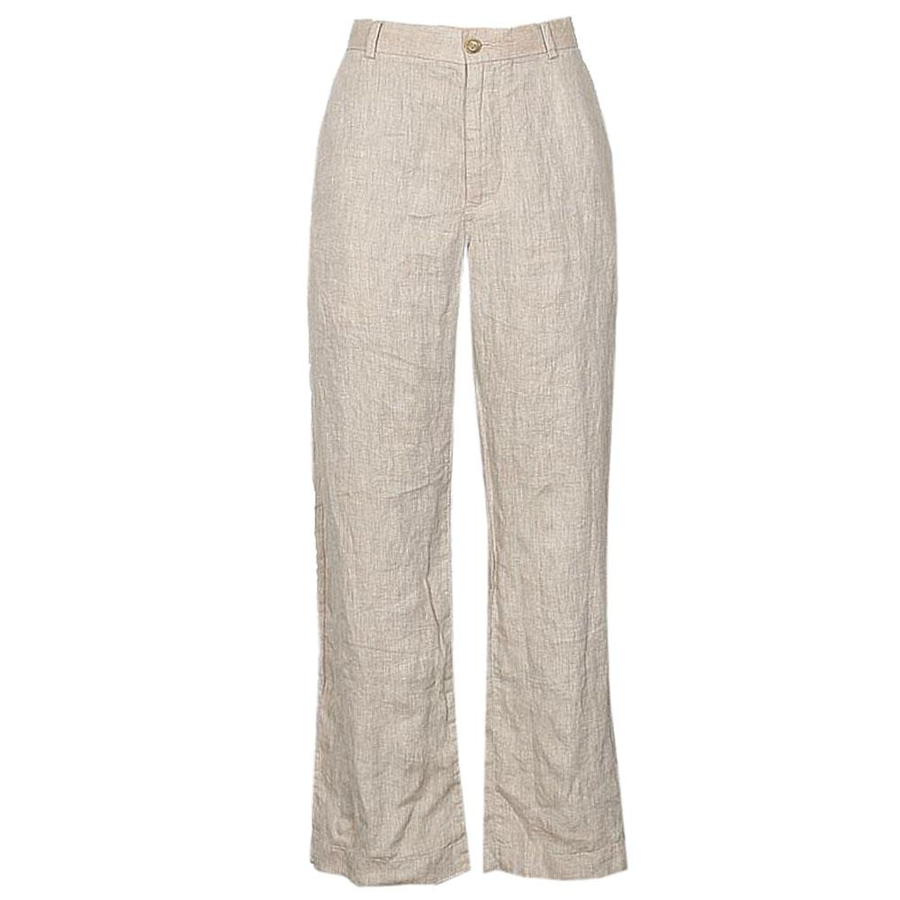 Banana Republic Cream Ladies Linen Pants W36,L42