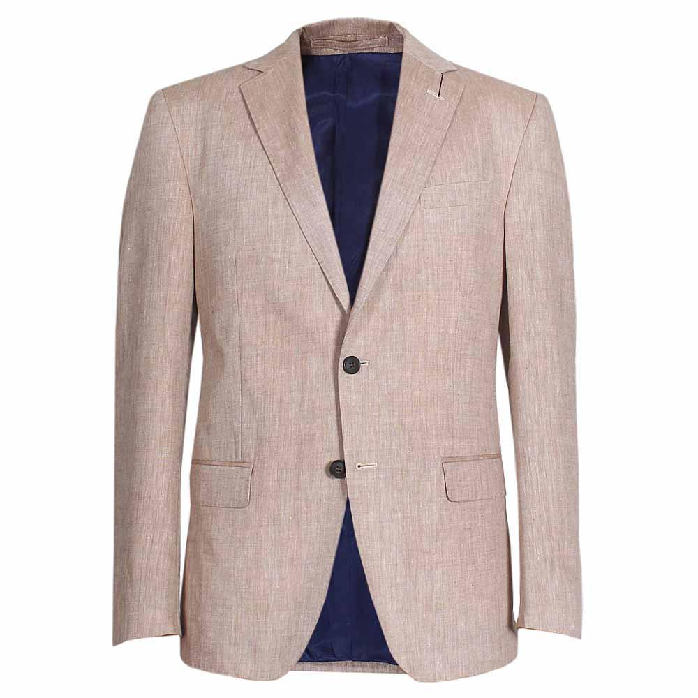 M & S Collection Neutral Regular Fit Men Jacket