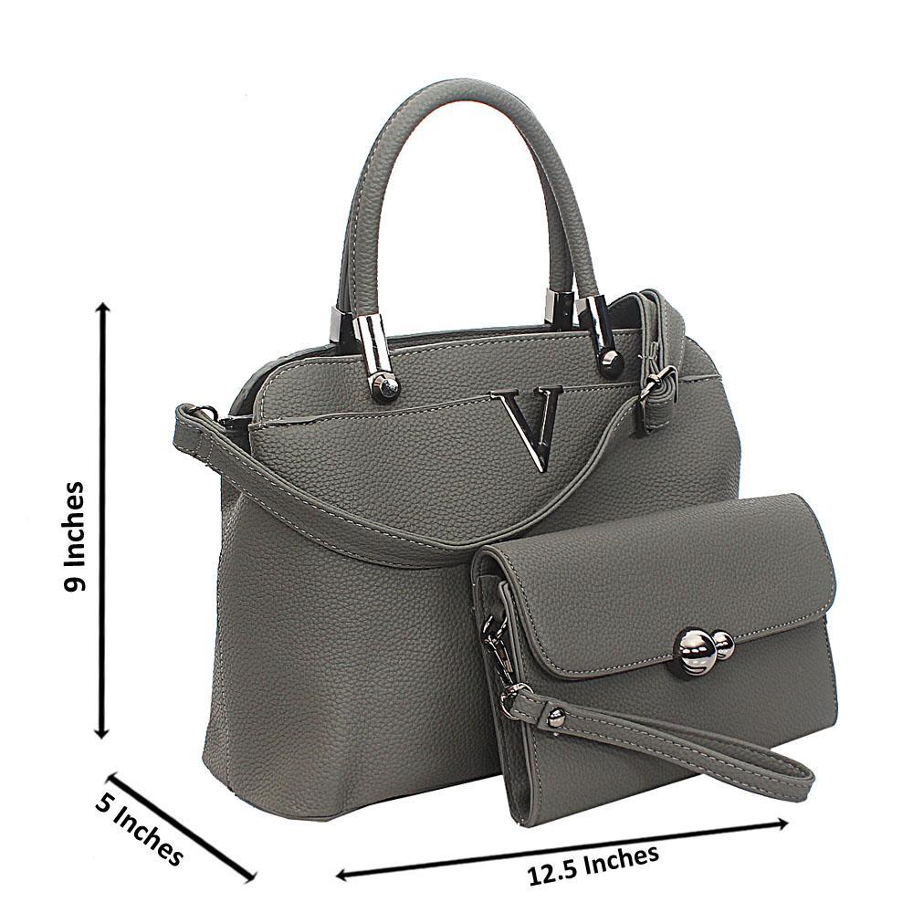 Gray Meadow Tuscany Leather Top Handle Handbag