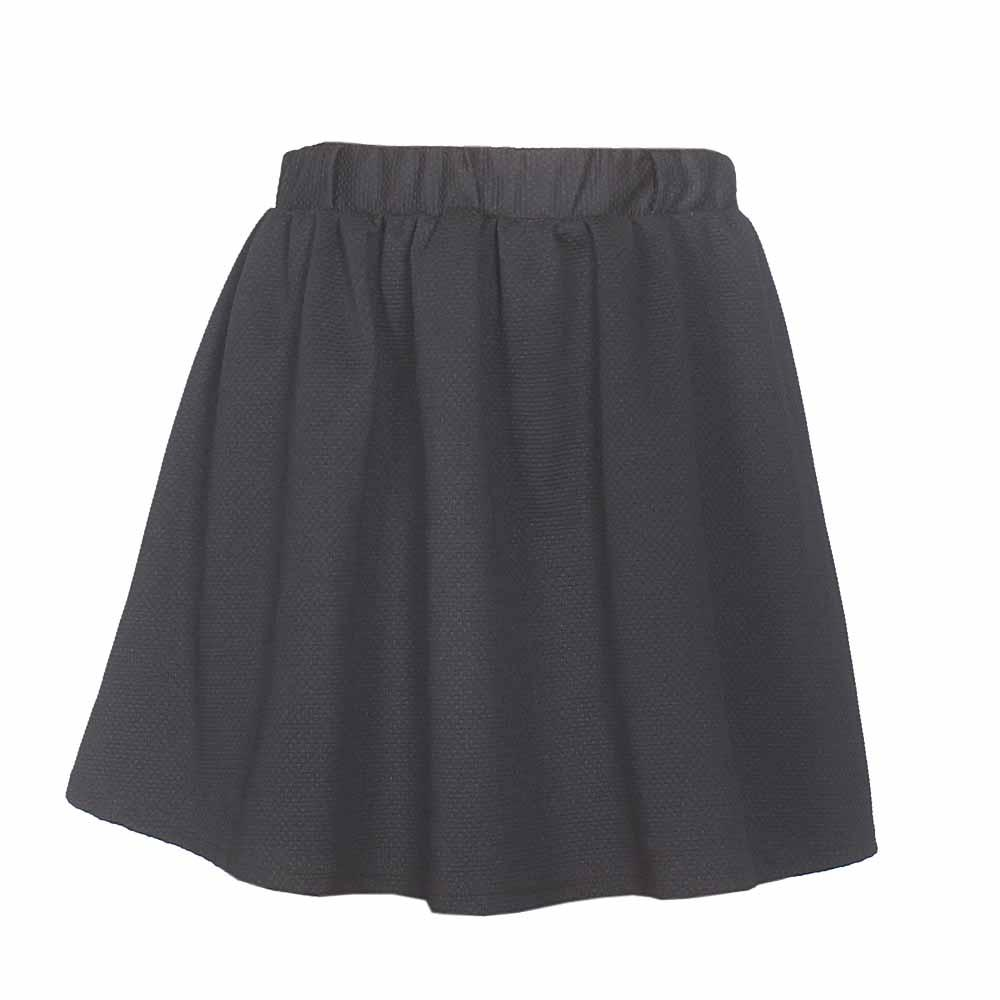 Atmosphere Black Ladies Skirt-32