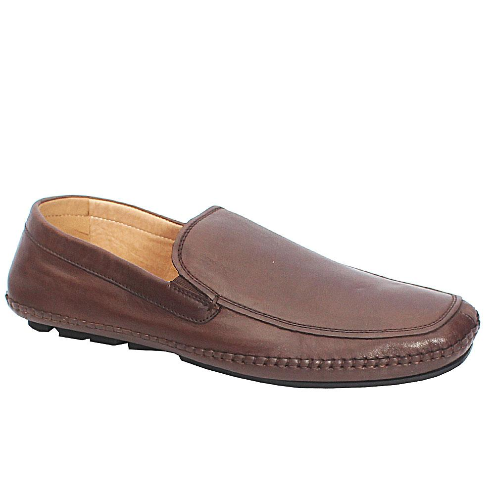 Kenneth Cole Brown Premium Leather Loafers