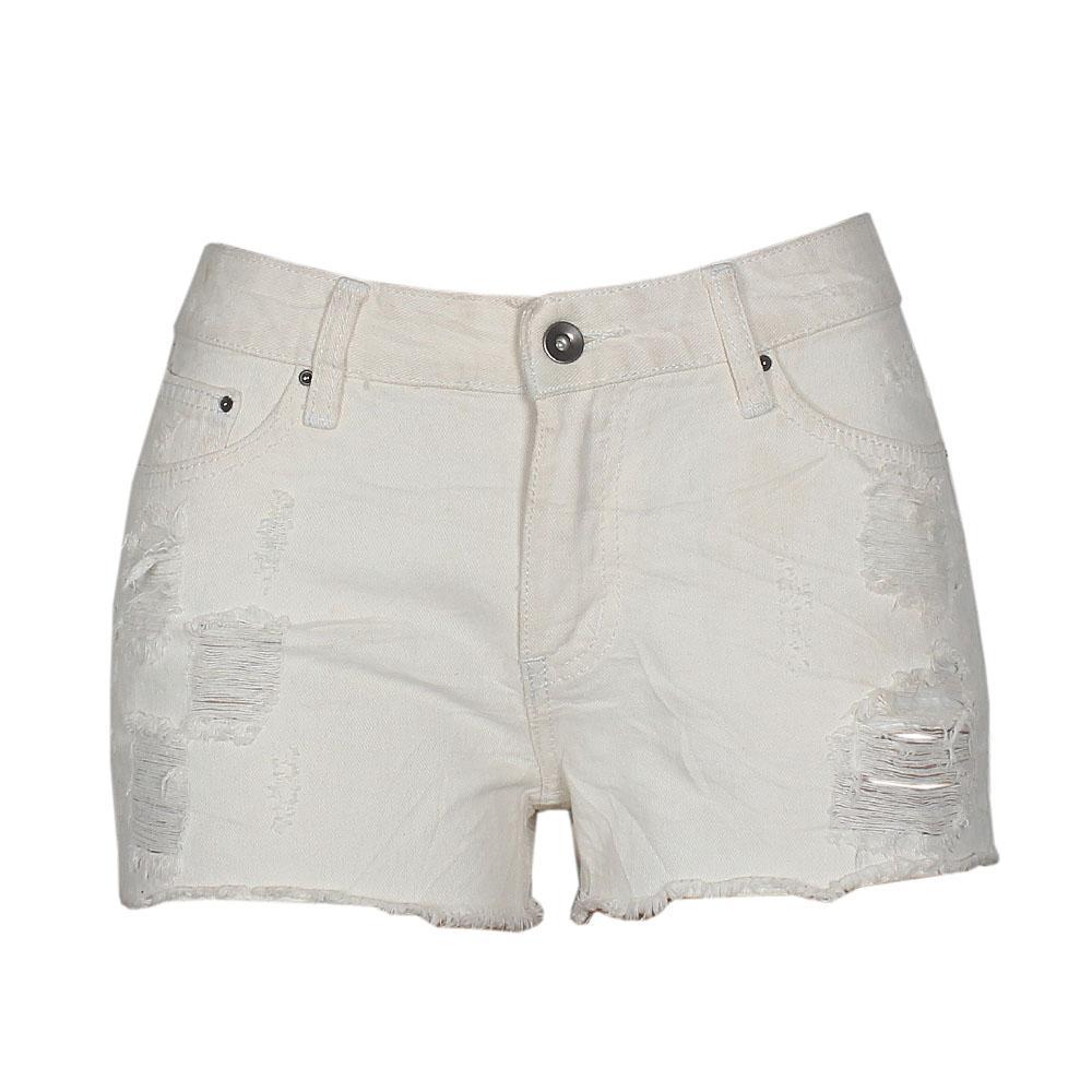 Cream Ladies Bum Short