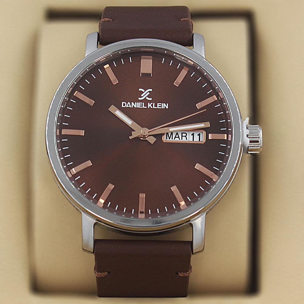 Daniel Klein Basilius Coffee Leather Classic Series Watch