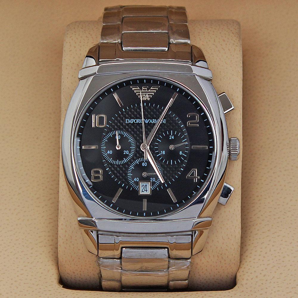Silver Men Watch -comes in wholesale case