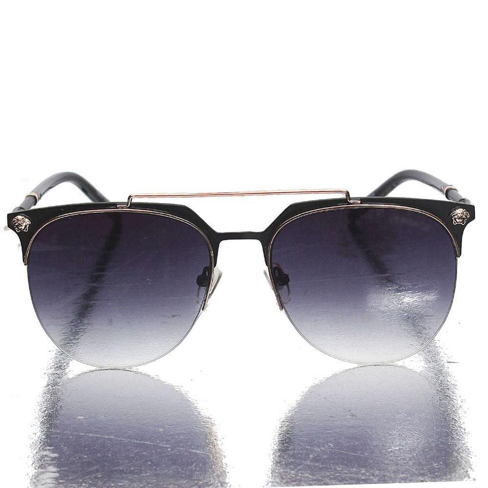Gold Black Club Master Sunglasses