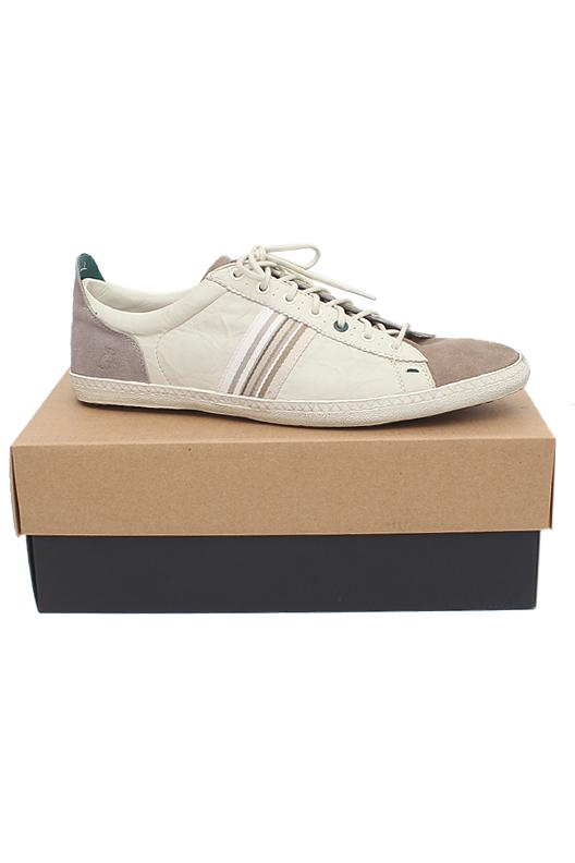 Paul Smith White Gray Men Sneakers