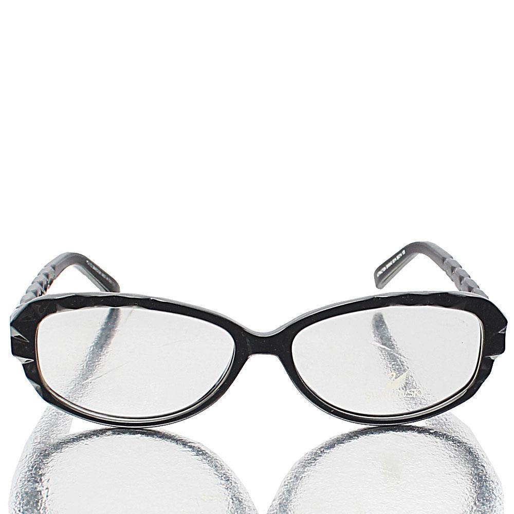 Black Transparent Lens Glasses
