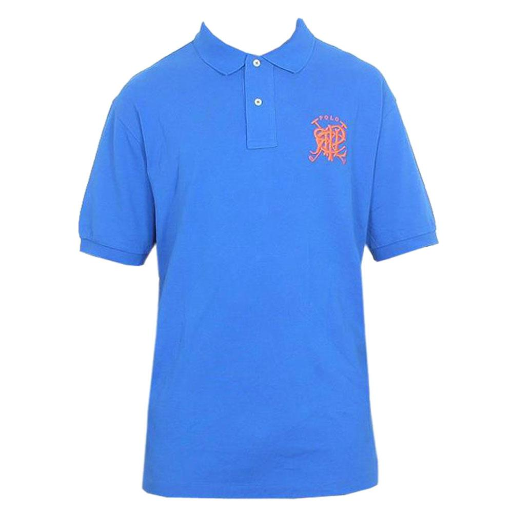 Polo Ralph Blue Men's Polo-XL