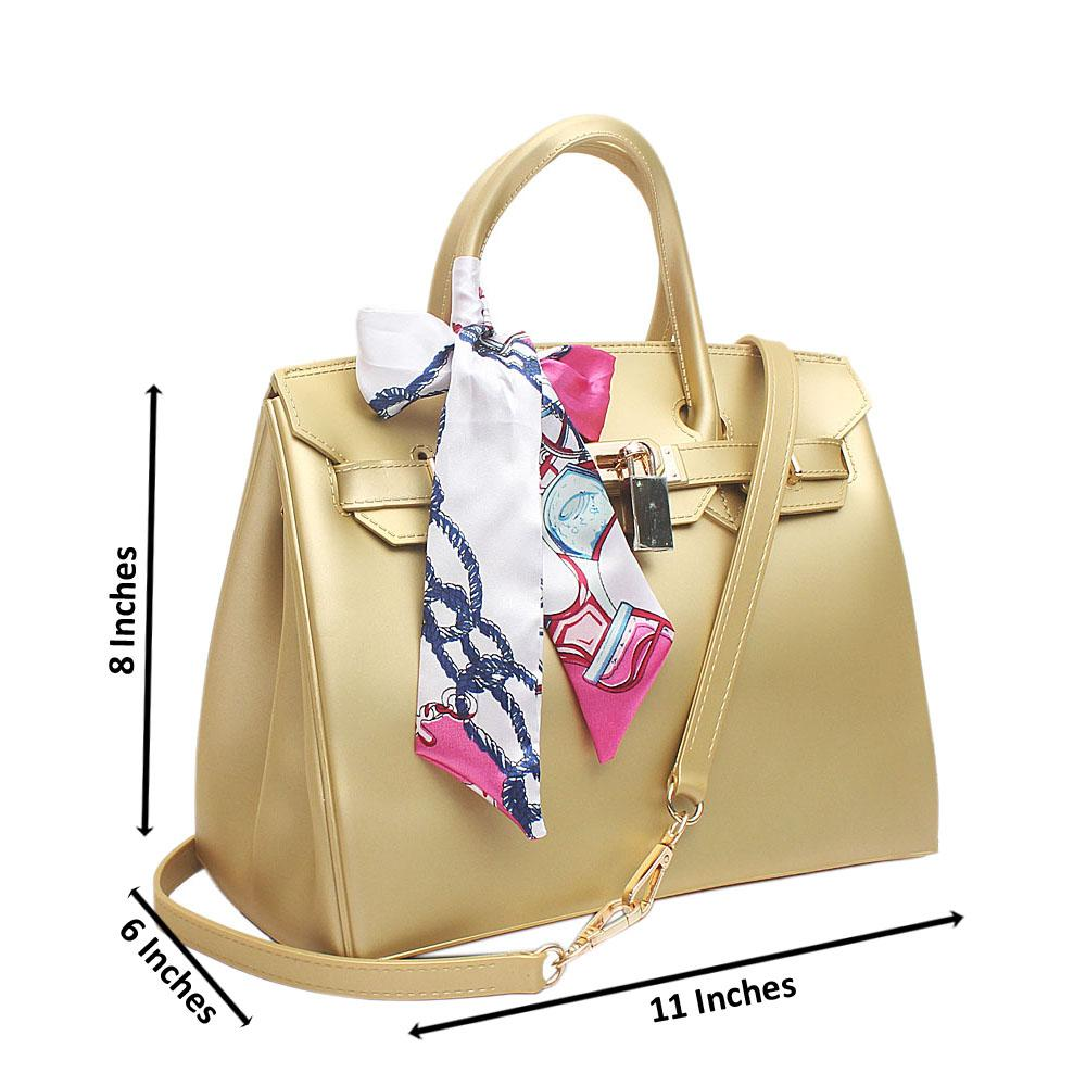 Gold Rubber Medium Birkin Matte Bag