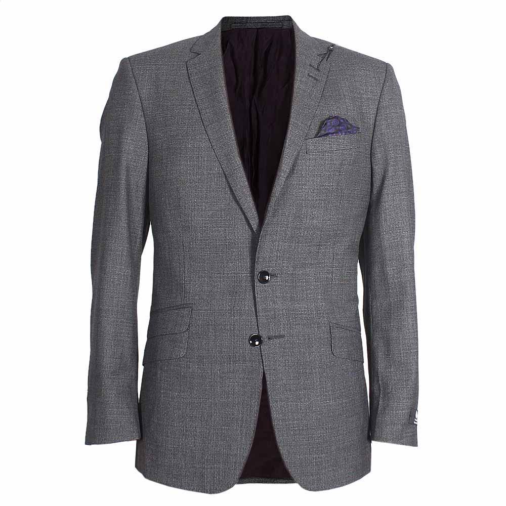 M & S Autograph Grey Slim Fit Men Jacket