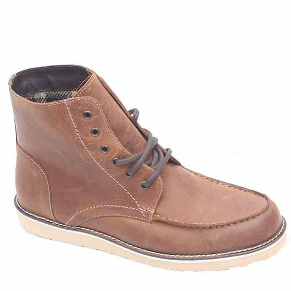 M&S Collection Brown Leather Men Shoe-Sz 44.5
