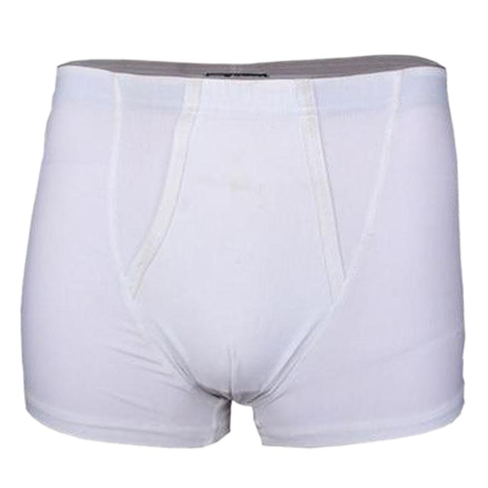 M & S Autograph White Cotton Microskin 2 Pairs  Men Trunks