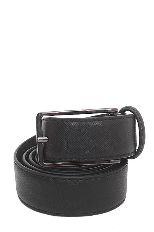 Marks & Spencer Black Leather Mens Belt