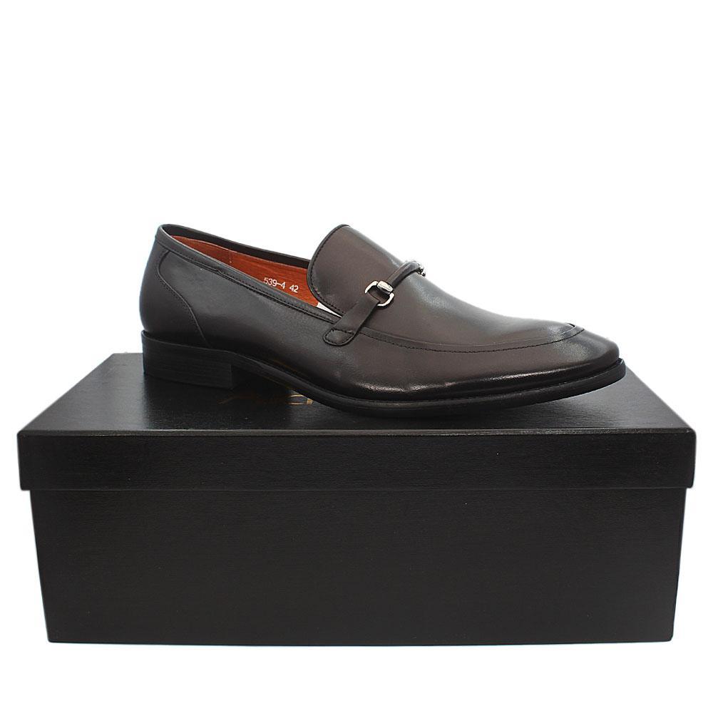 Aldo-Brue Black Patent Italian Leather Men Shoe