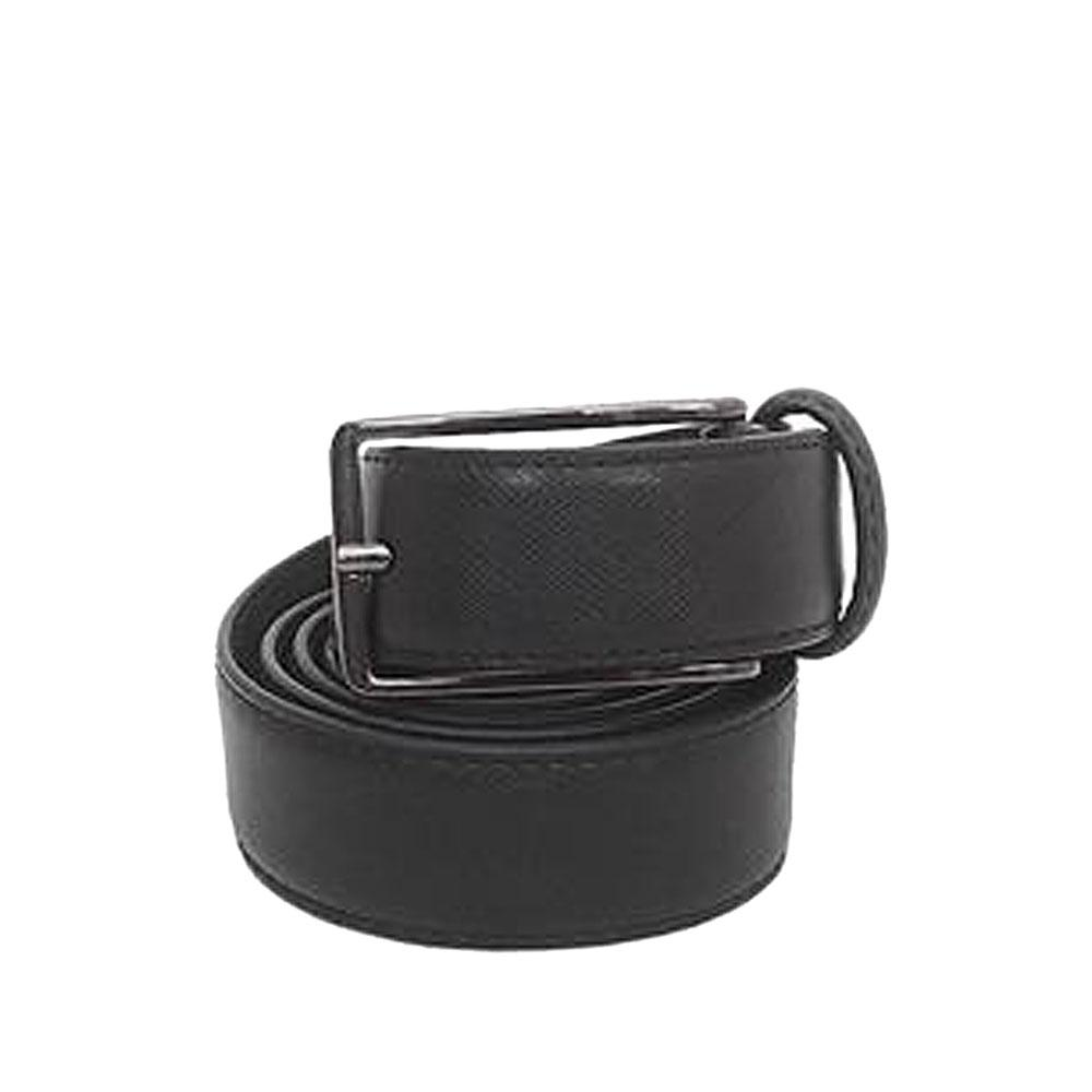 Marks & Spencer Black Leather Mens Belt-L 44Inches