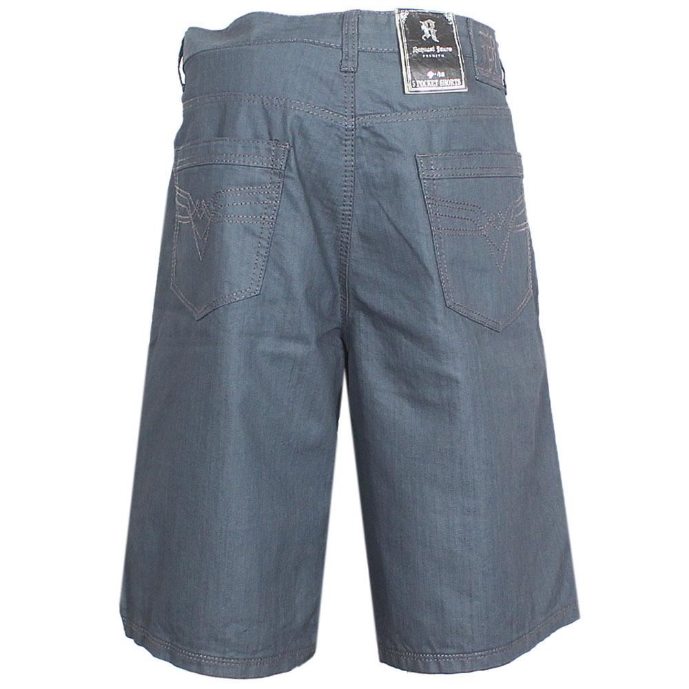 Request Jeans Grey Men Cargo Short