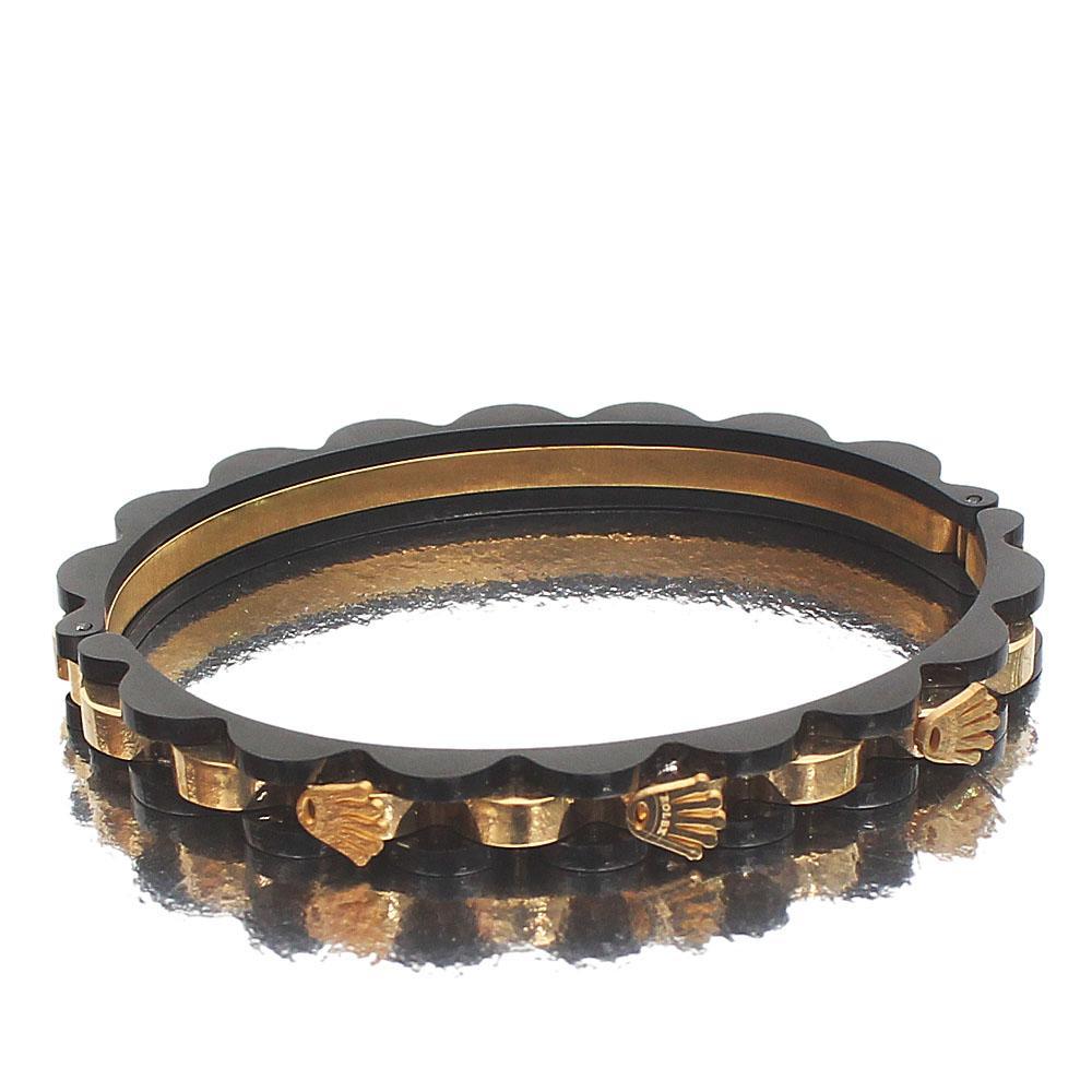 Rolex  Black Gold Bracelet