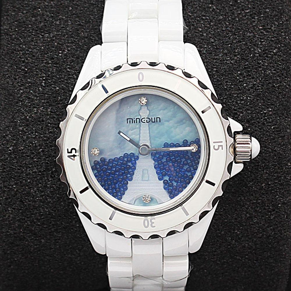 Empire Paris Blue Stone Divers Ceramic Ladies Watch