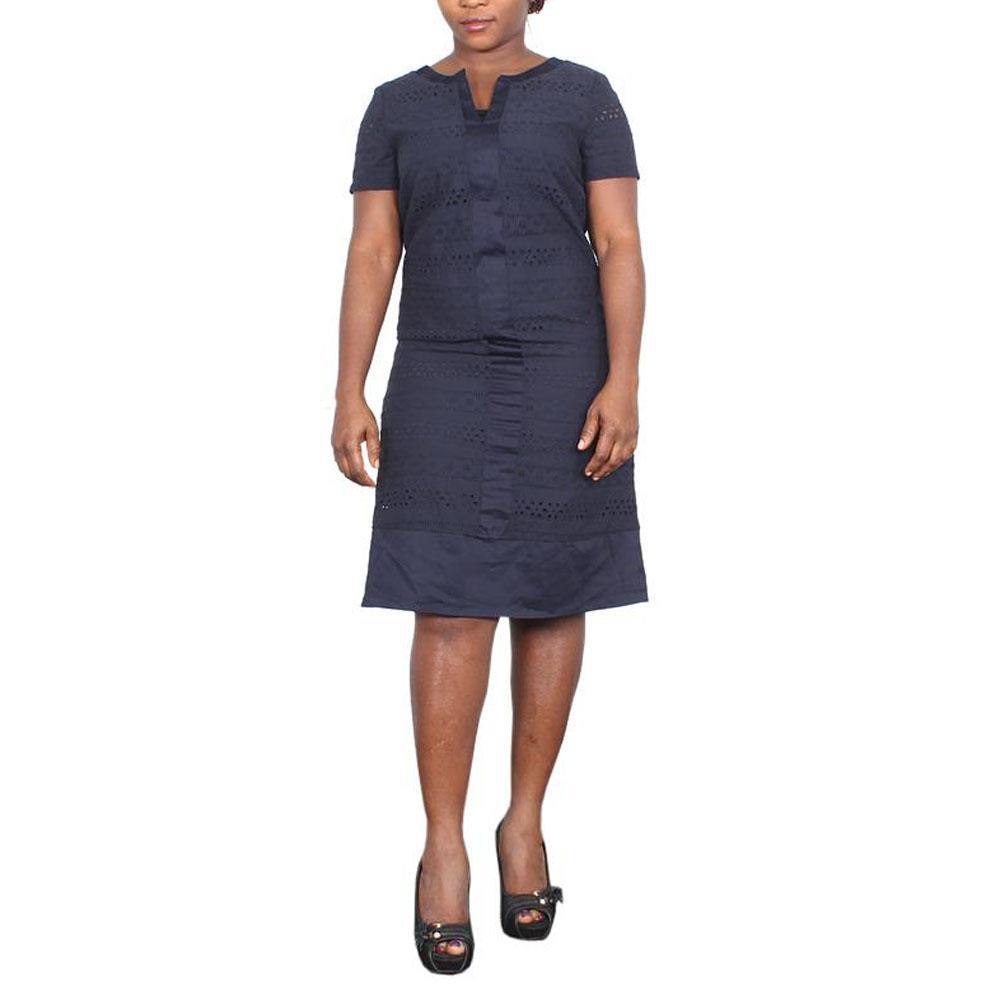 M & S Deep Blue Ladies Dress