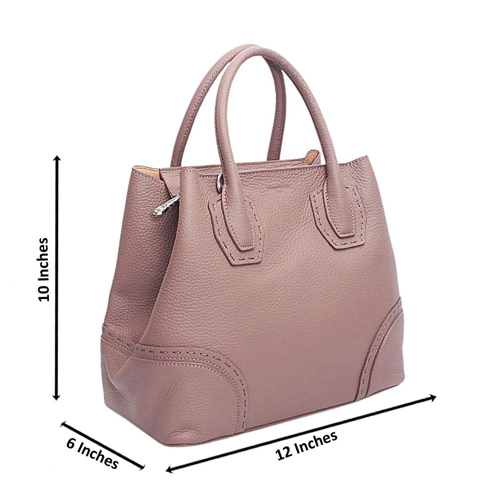 Forstmann Exclusive Lilac Cow-Leather Tote Handbag