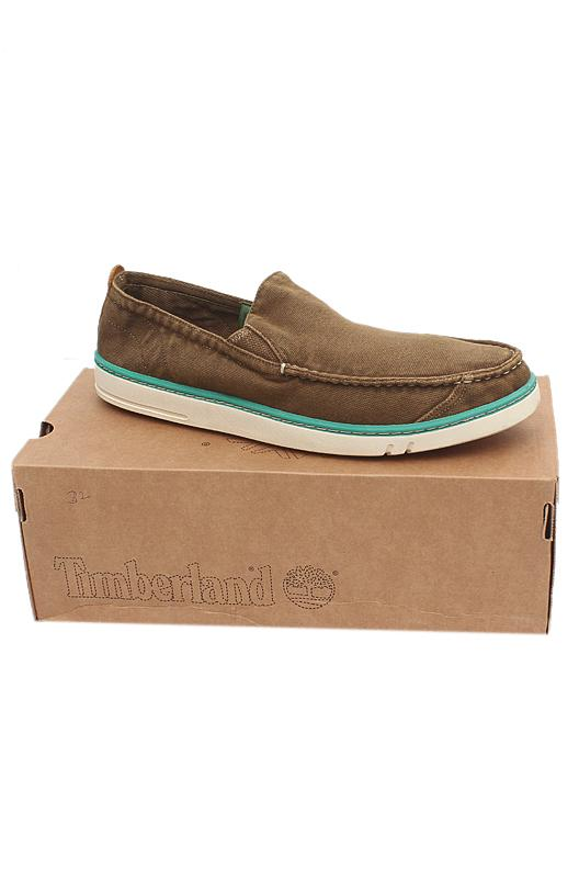 Timberland Earthkeepers Brown White Slip On Men Sneakers