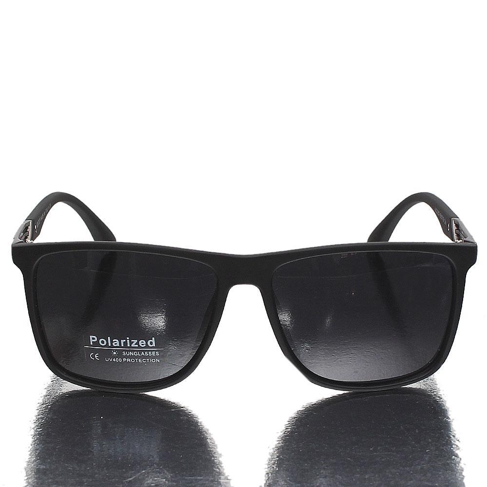 Black Wayfarer Dark Lens Sunglasses