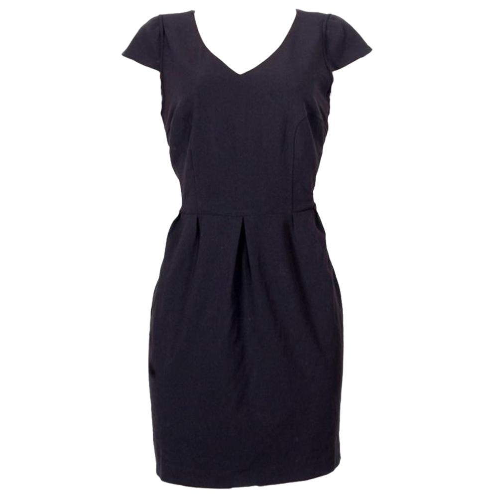 Worthington Black Sleeveless Ladies Dress-Uk12