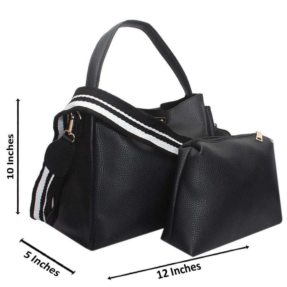 Black-Leather-Medium-Babe-Handbag