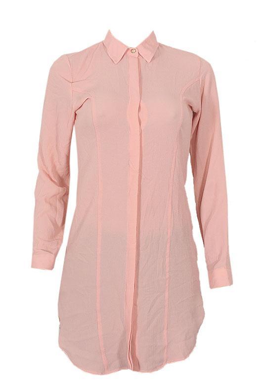 Queen Peach Ladies L/Sleeve Shirt