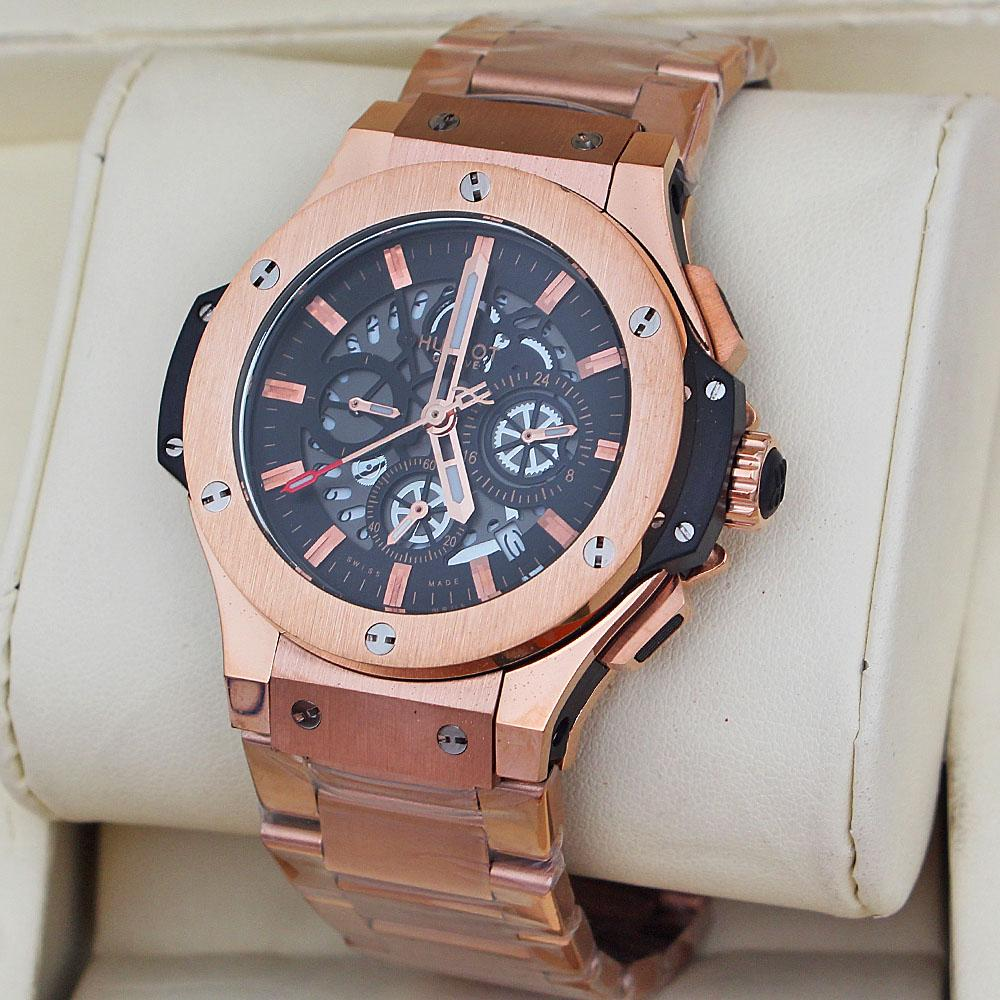Rose Gold Men Watch -comes in wholesale case