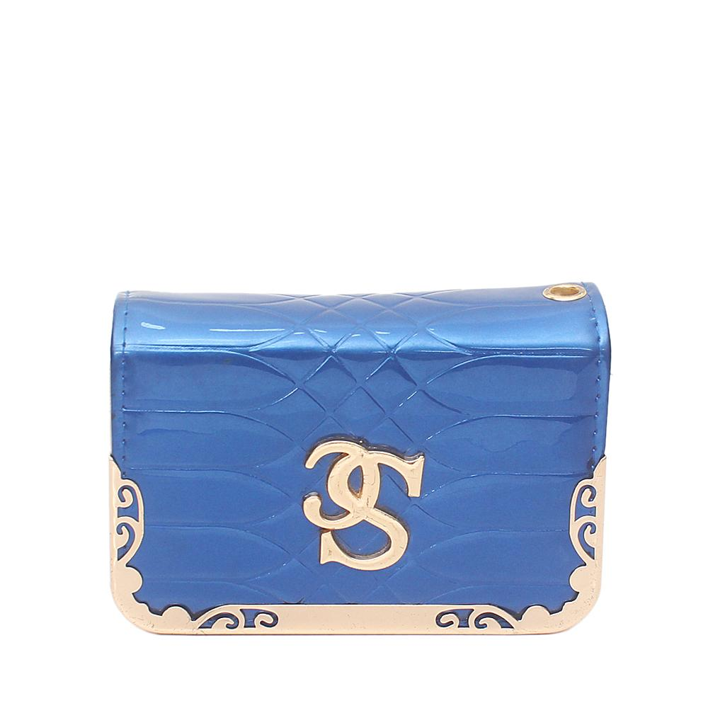 Normark Blue Small Leather Purse