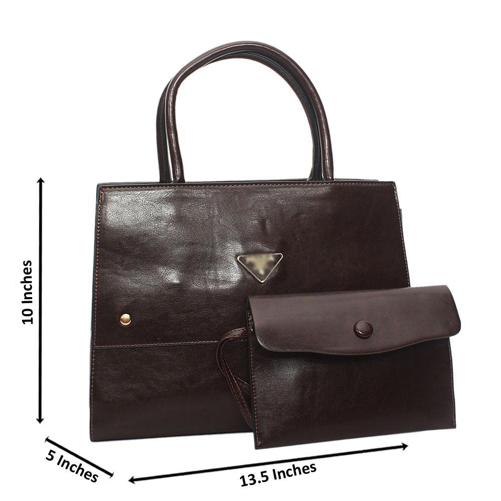 Coffee Brown Orla Tuscany Leather Tote Handbag