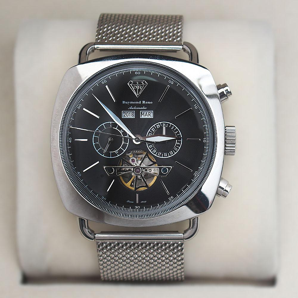 Daymond Rene Mesh Stainless Steel 3ATM Automatic Watch