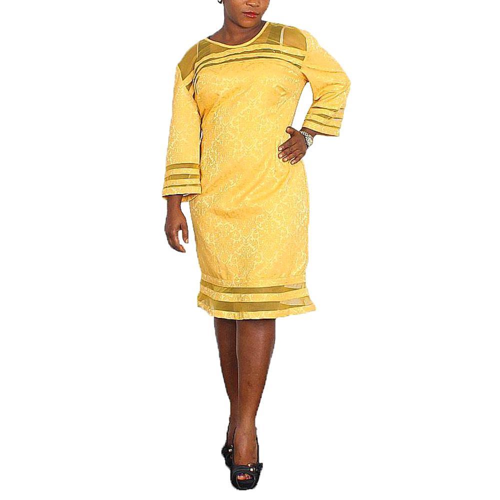 Patetti Golden Yellow Ladies Wt Belt -UK16/L38inc