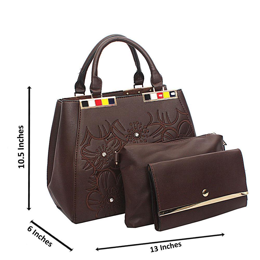 Brown Arabella Tuscany Leather Tote Handbag