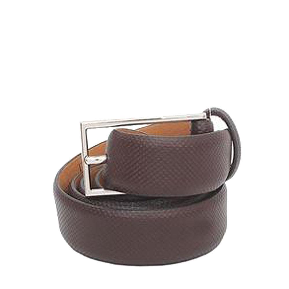 Marks & Spencer Brown Leather Mens Belt-L 36 Inches