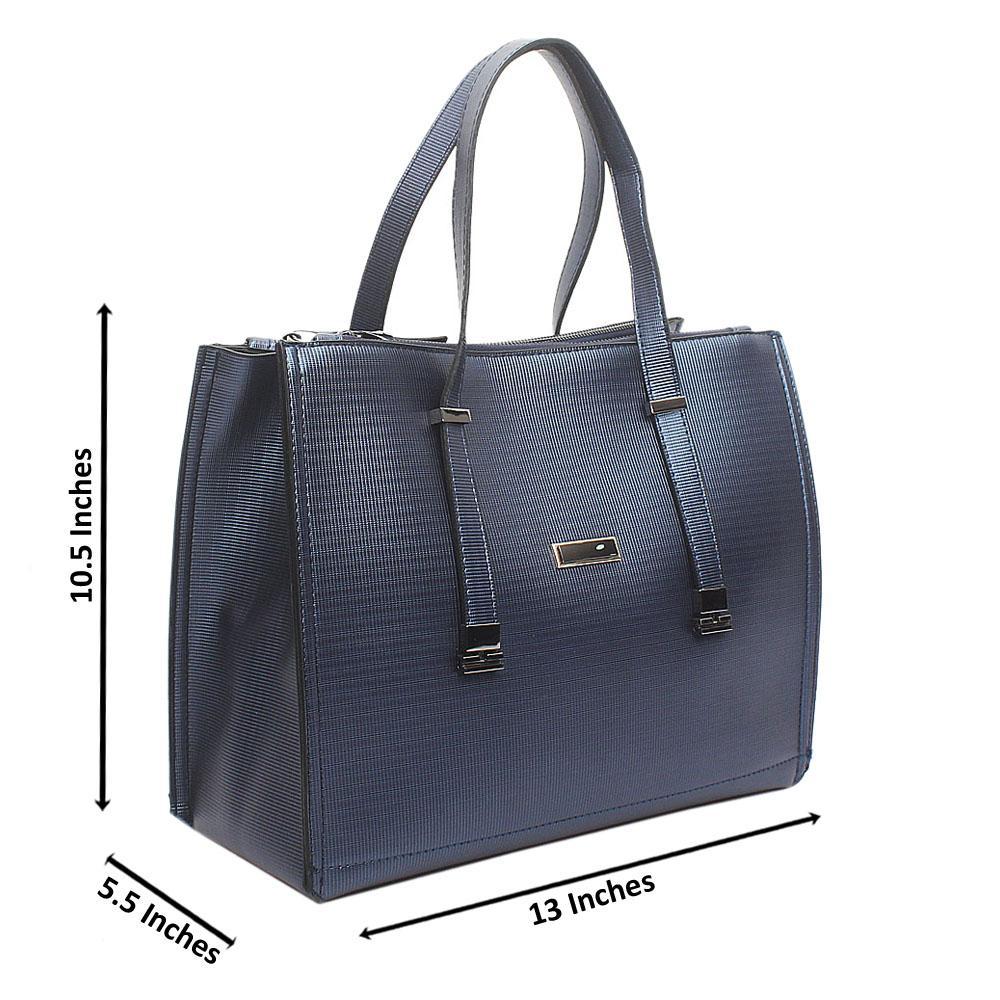 Classic Royal Blue Handbag
