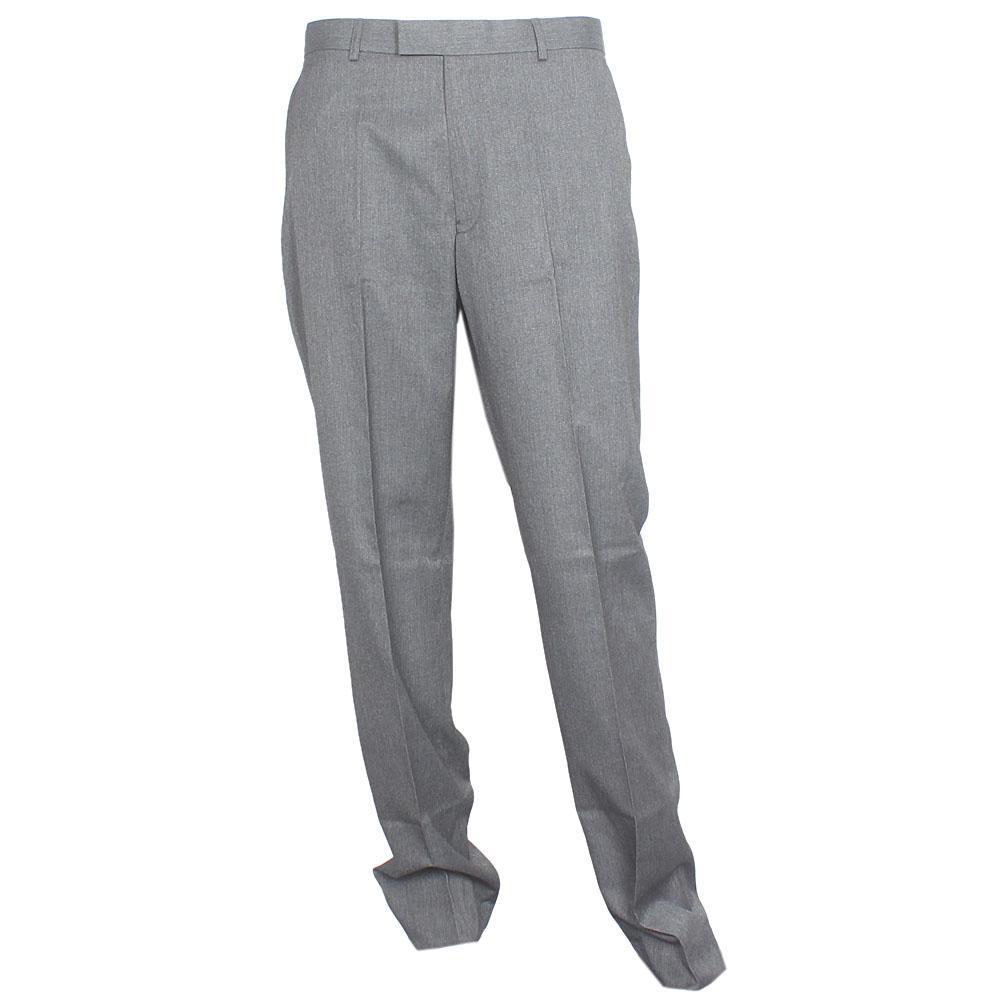 M & S Dark Gray Cotton Regular Fit Men Trouser