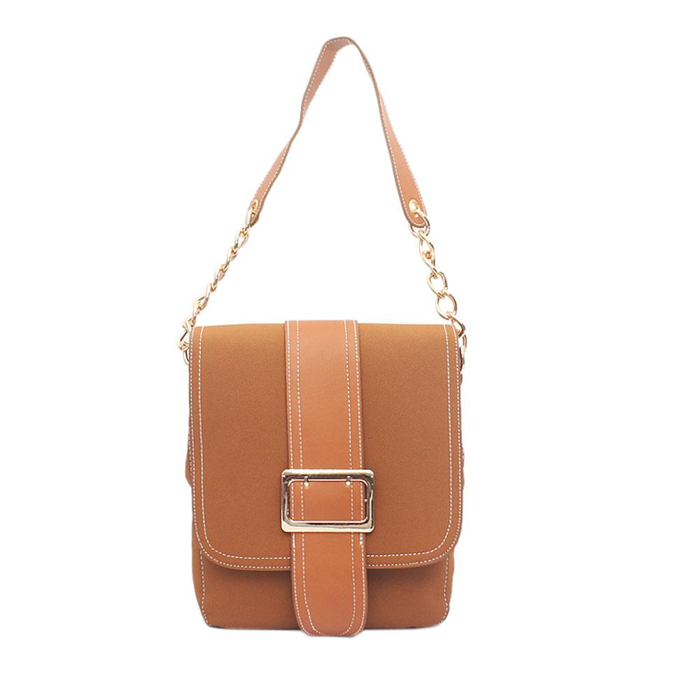 Avatar Brown Leather Handbag