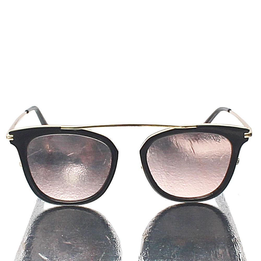 Gold Polarized Pink Lens Sunglasses