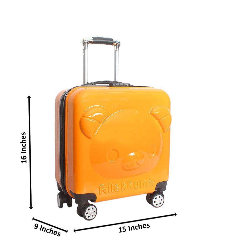 Yellow Kiddies Suitcase