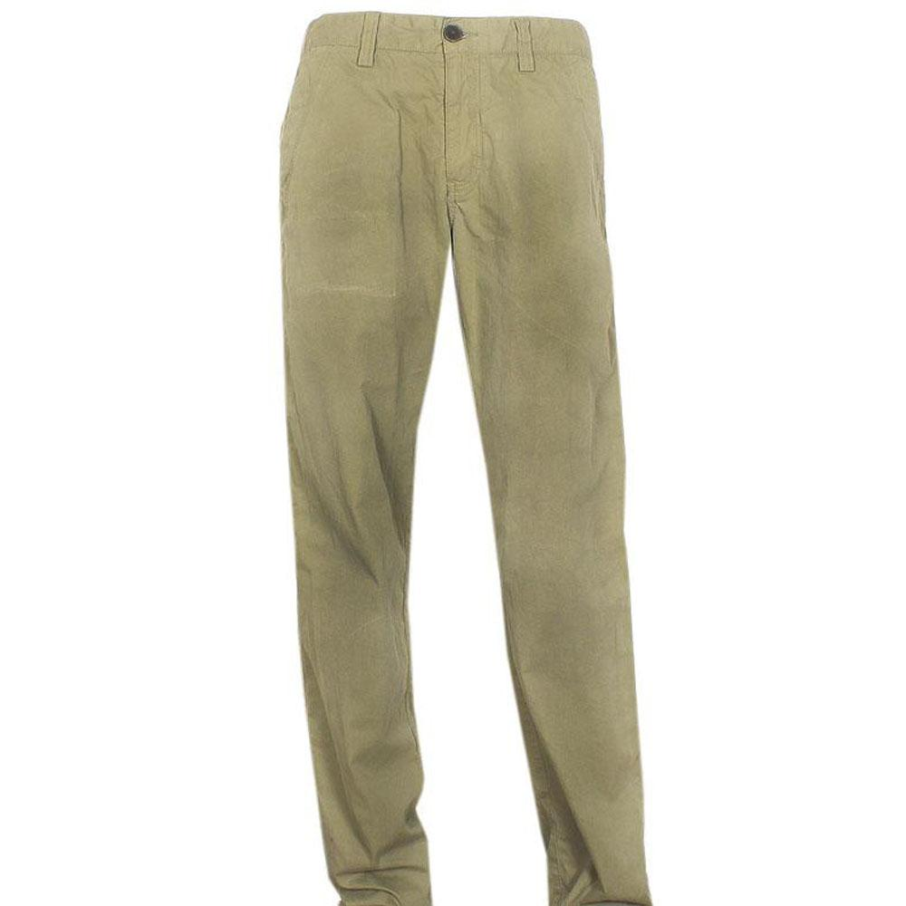 Timberland Army Green Men's Chinos Wt Double Pocket - W-34/L-44.7