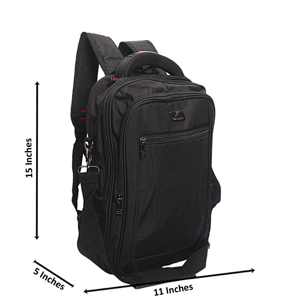 Black Marcello Leisure Life Backpack