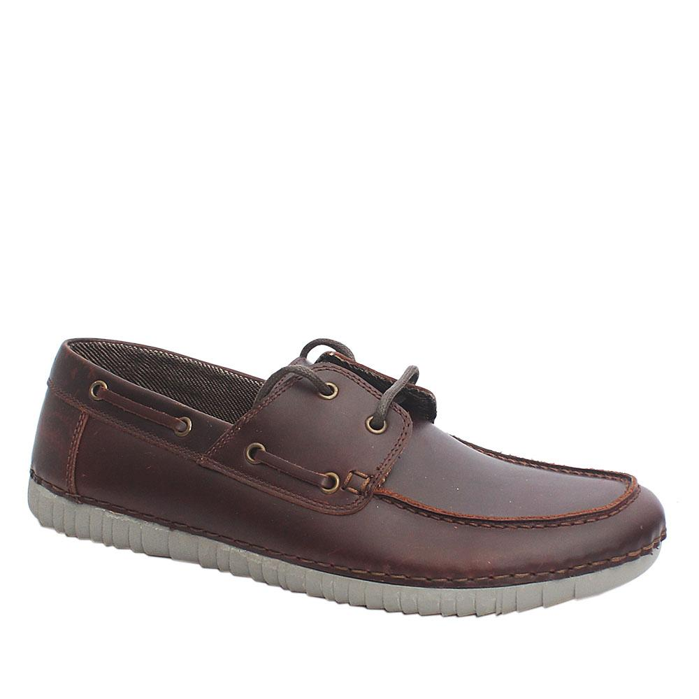 Soul of Africa Safari Edge Brown Premium Leather Loafers