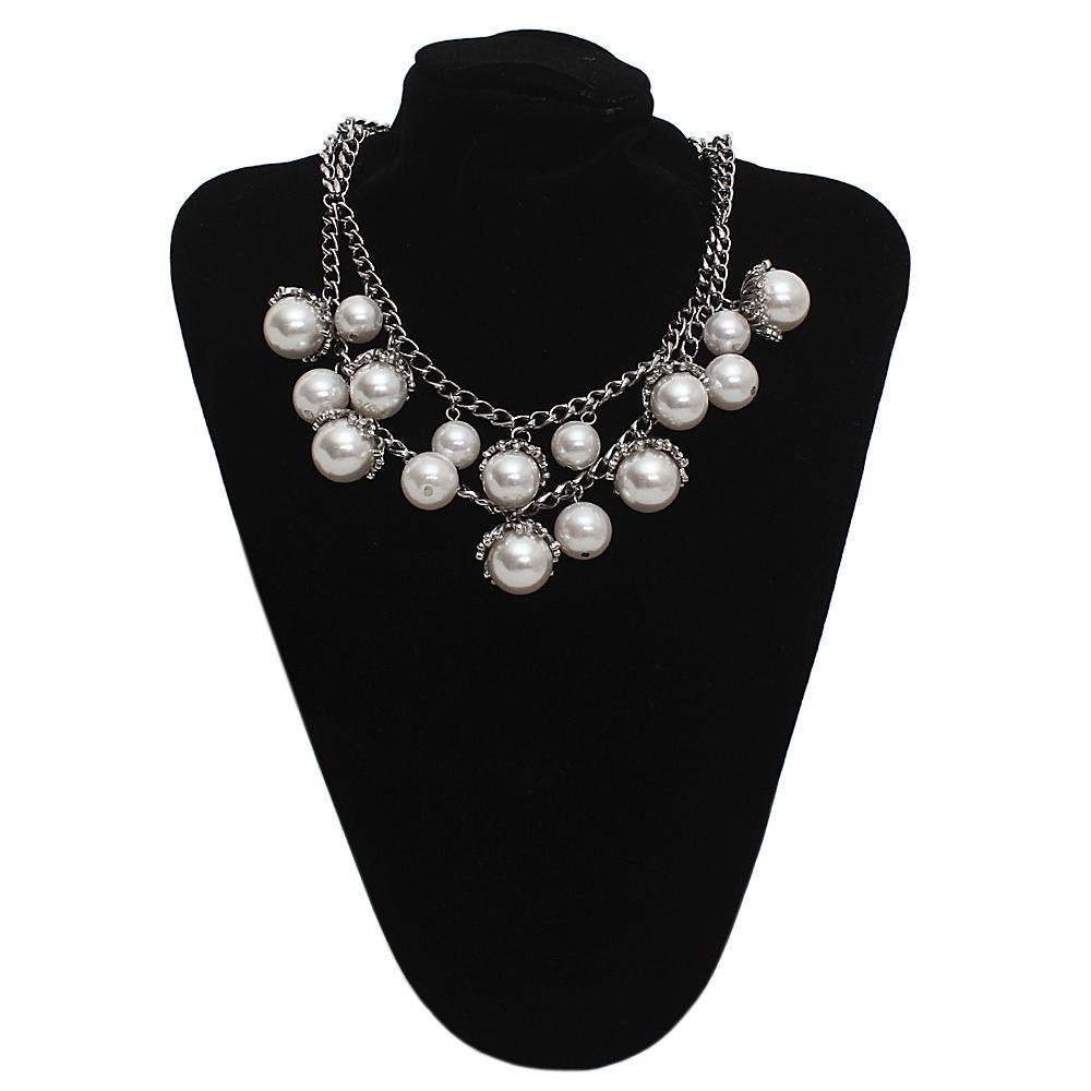 Per Una Silver Pearl Jewelry