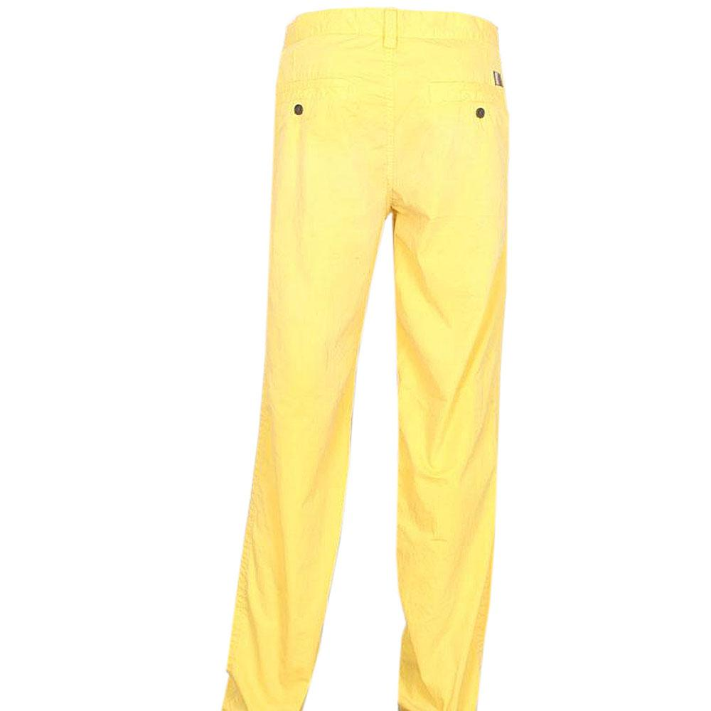 Timberland Yellow Men's Chinos Wt Double Pocket - W-34/L-44